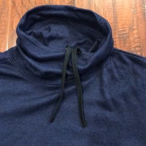 Navy Old Navy cowl. Size large